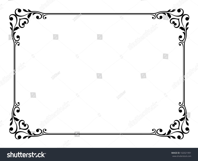 ppt 背景 背景图片 边框 模板 设计 相框 1500_1224