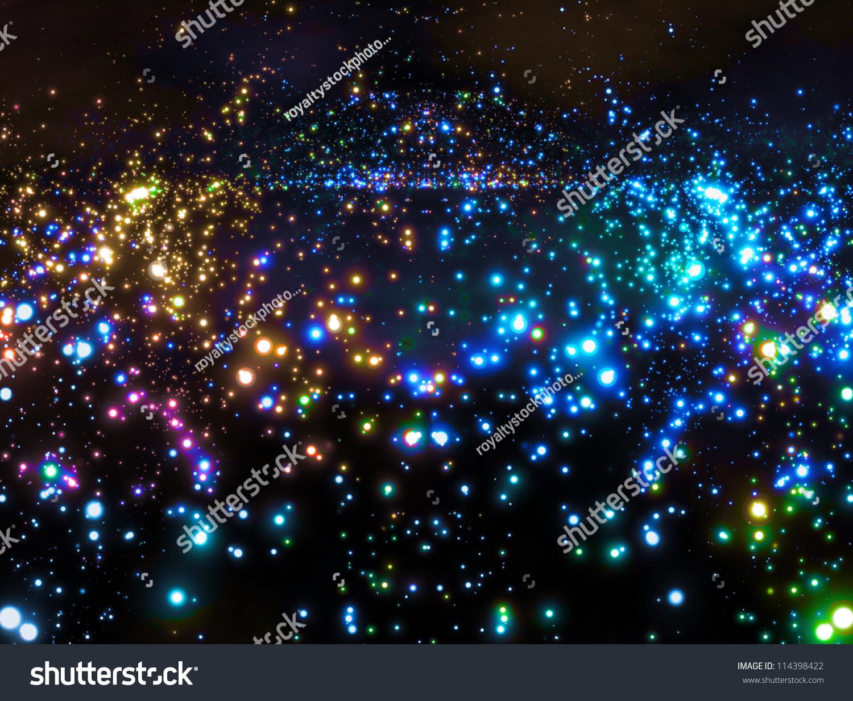 星系在外层空间-背景/素材,抽象-海洛创意(hellorf)-.
