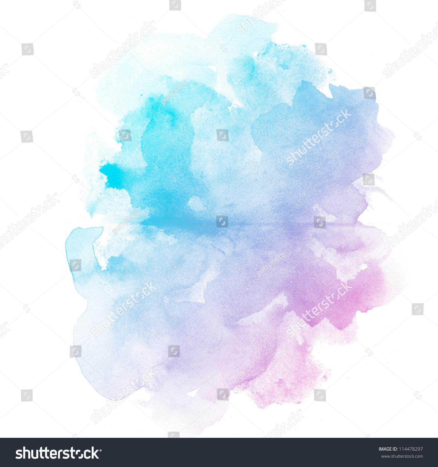 中文摘要水彩艺术手绘背景-艺术,抽象-海洛创意()-合.