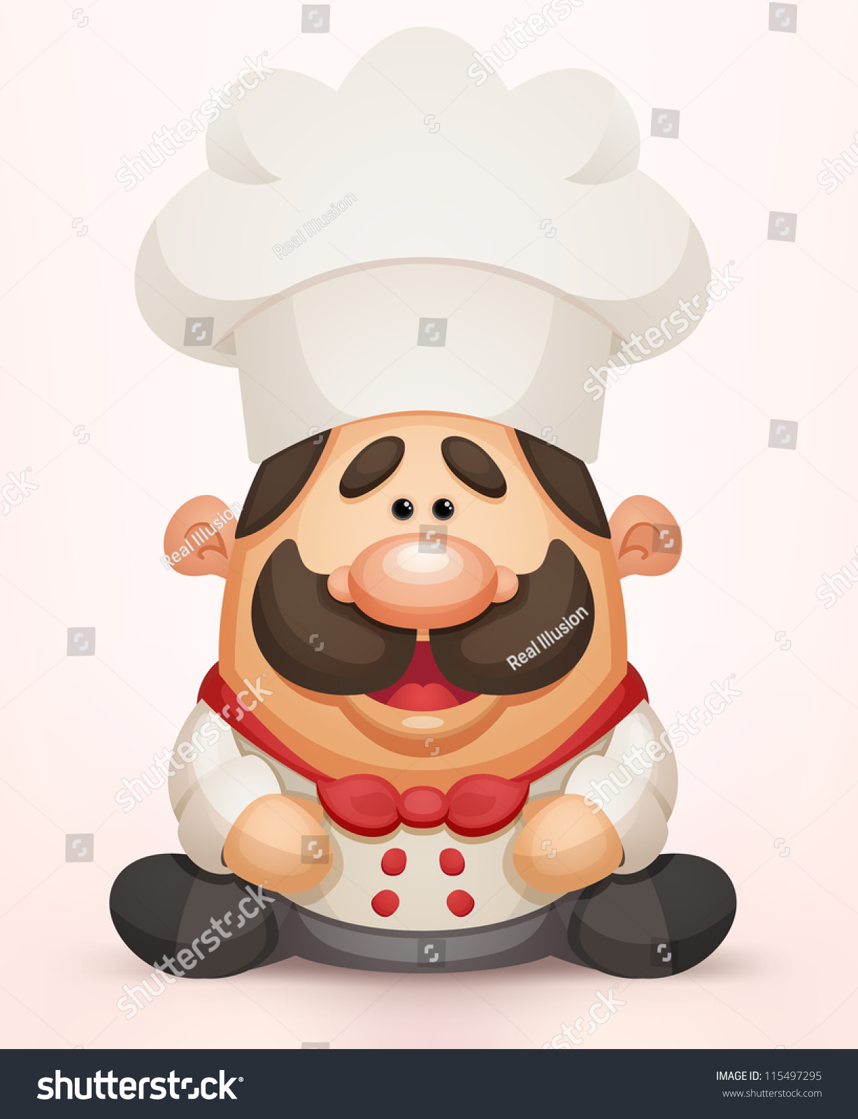 卡通厨师-人物-海洛创意(hellorf)-shutterstock中国