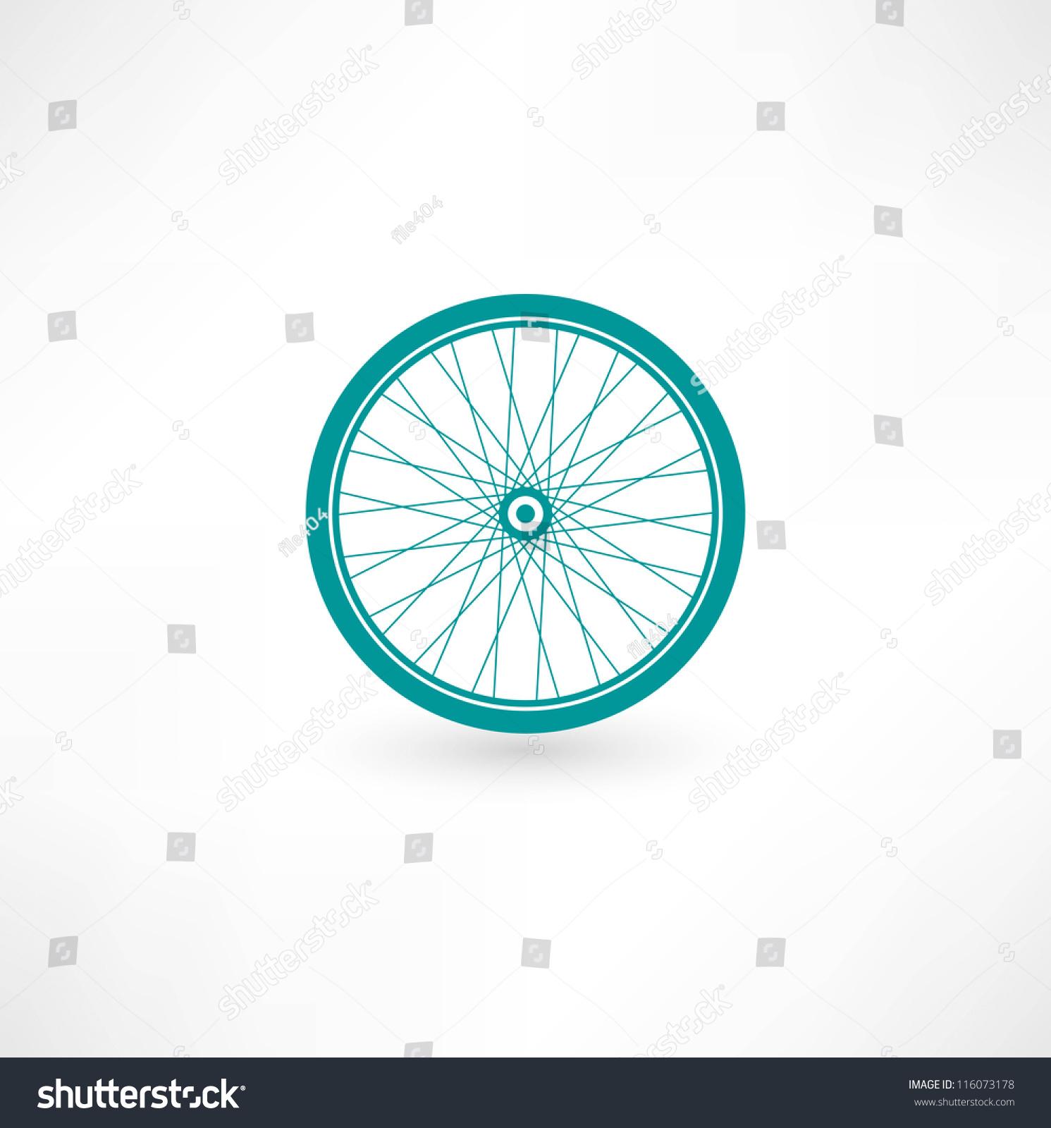 自行车车轮符号-交通运输