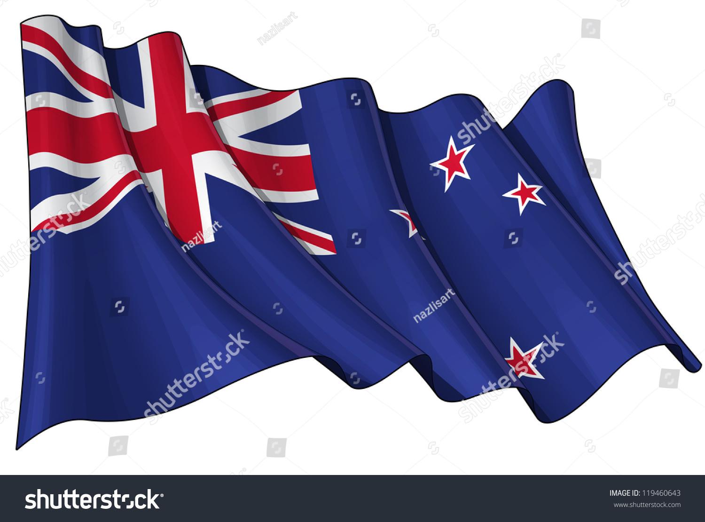新西兰国旗-背景/素材,符号/标志-海洛创意(hellorf)