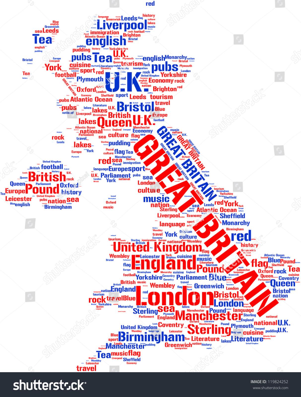 英国地图标记云-人物,符号/标志-海洛创意(hellorf)-.