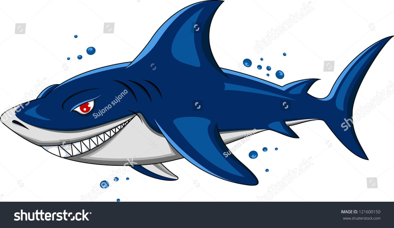 愤怒的鲨鱼-动物/野生生物-海洛创意(hellorf)-中国