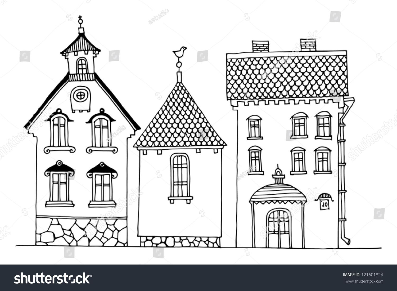 微信头像风景房子