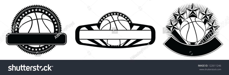篮球设计会徽模板设计模板包括三篮球篮球明星的例子