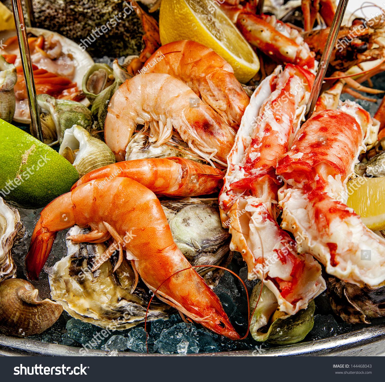 海鲜组合-食品及饮料,物体-海洛创意(hellorf)-中国-.