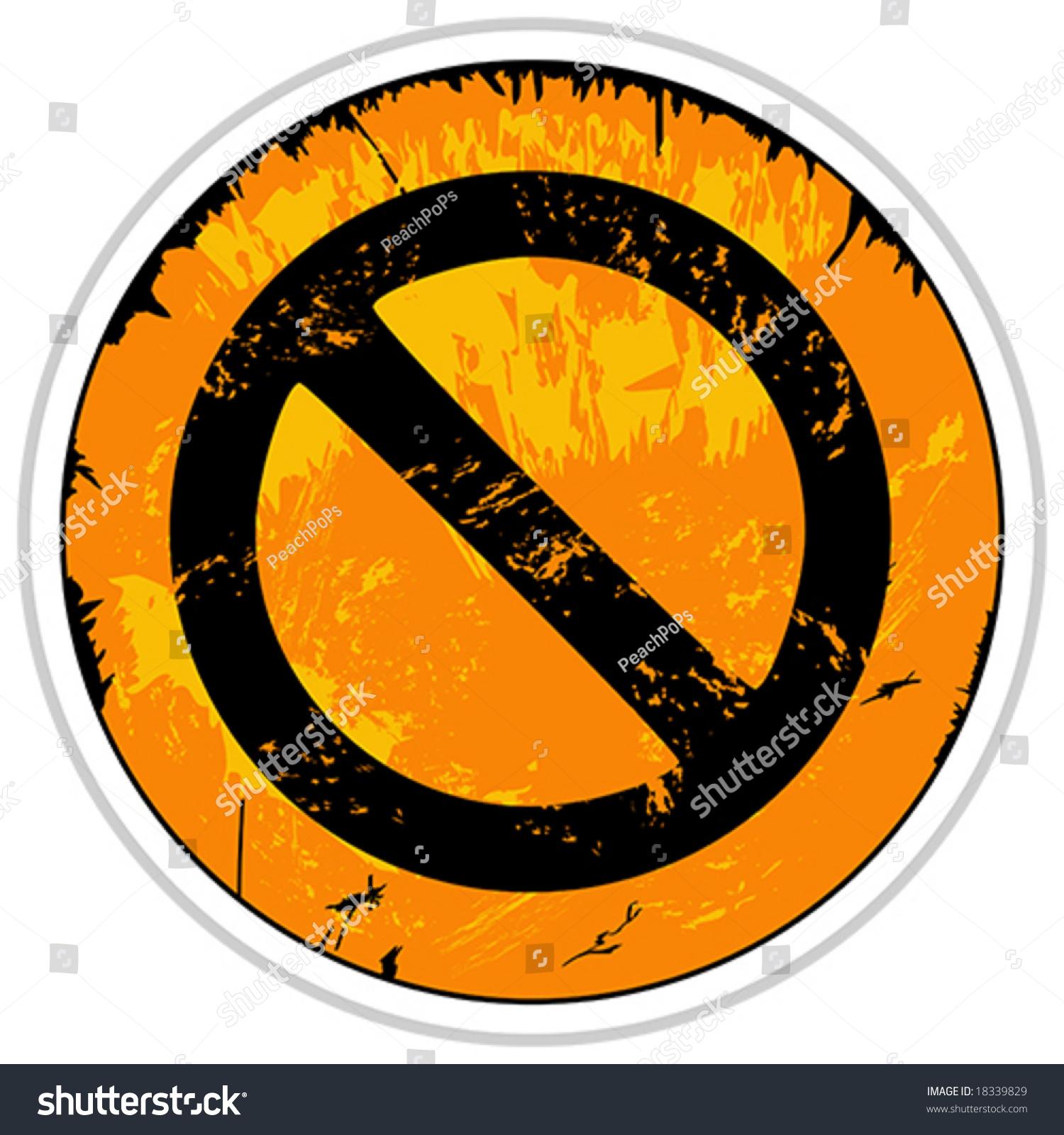 矢量橙色垃圾删除按钮图标-插图/剪贴图,符号/标志-()