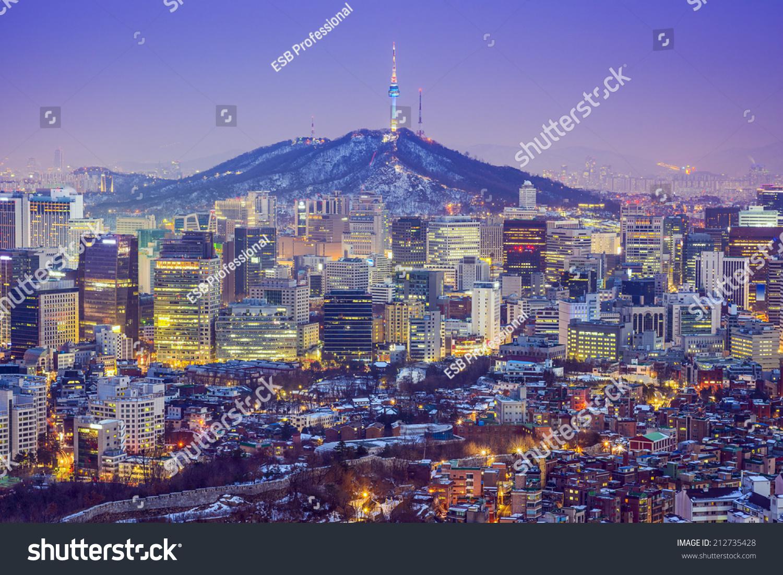 韩国建筑物单色小图标ppt素材