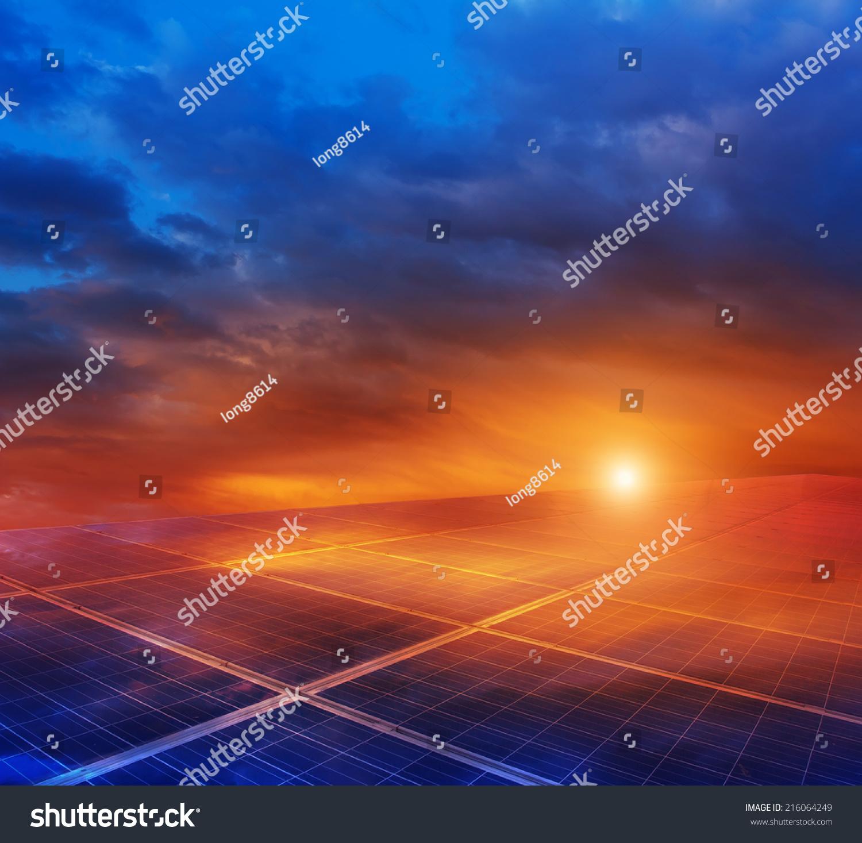 大草原上的光伏发电-背景/素材,工业-海洛创意()-中国