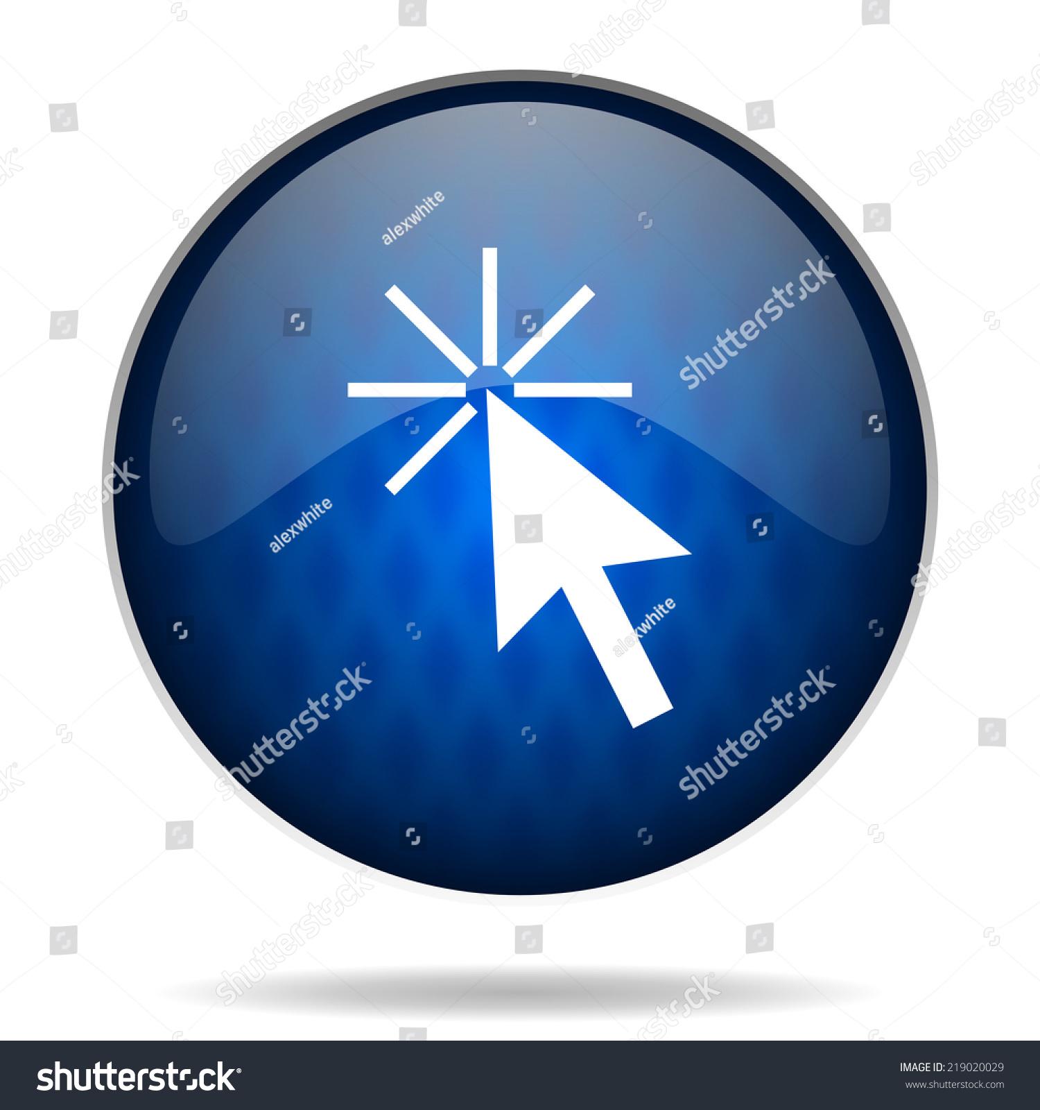 箭头互联网蓝色图标-抽象-海洛创意(hellorf)-中国