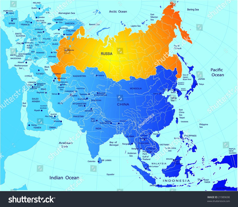 俄罗斯的政治地图-插图/剪贴图,教育-海洛创意()-中国