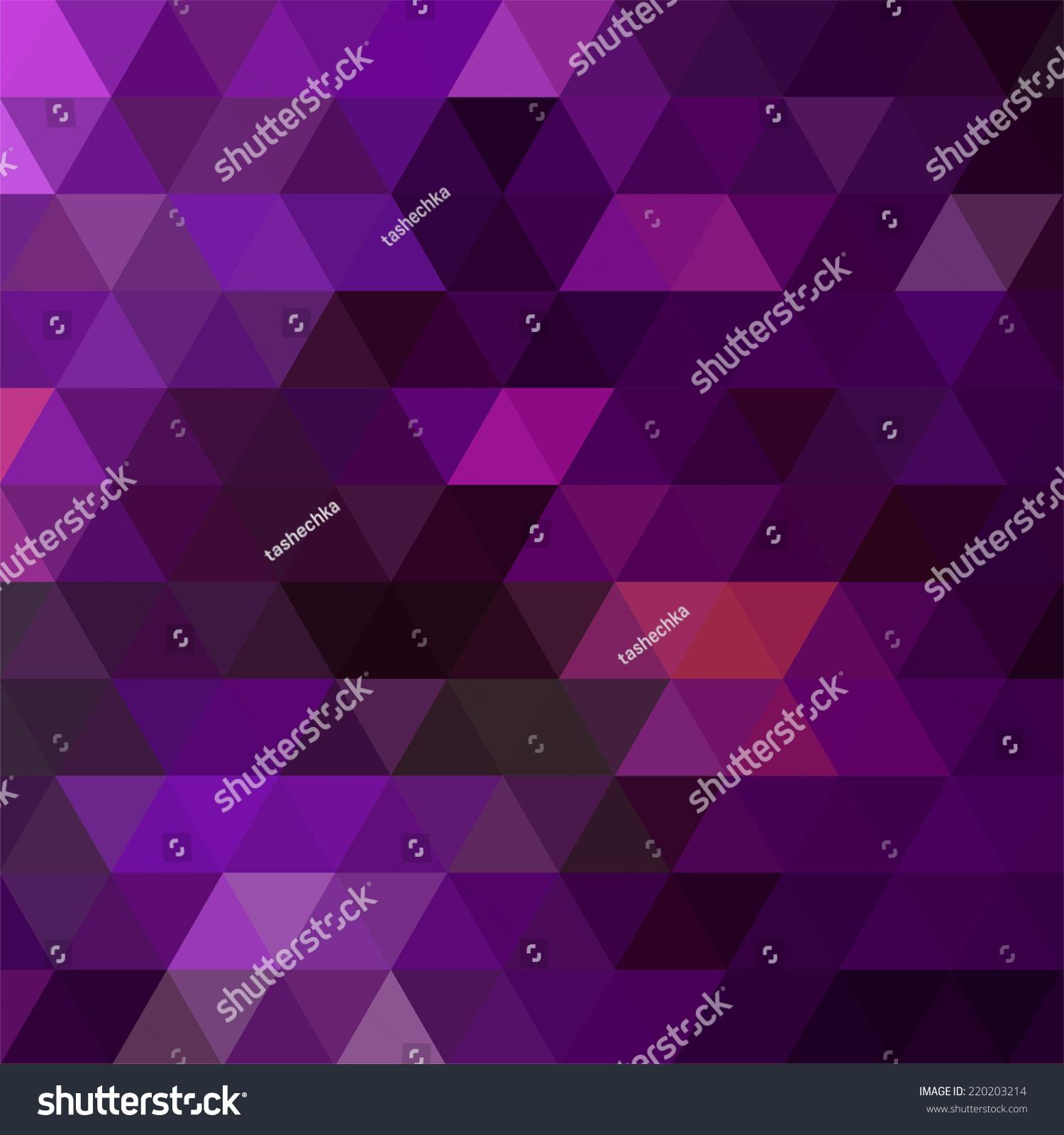 由三角形组成的背景-背景/素材