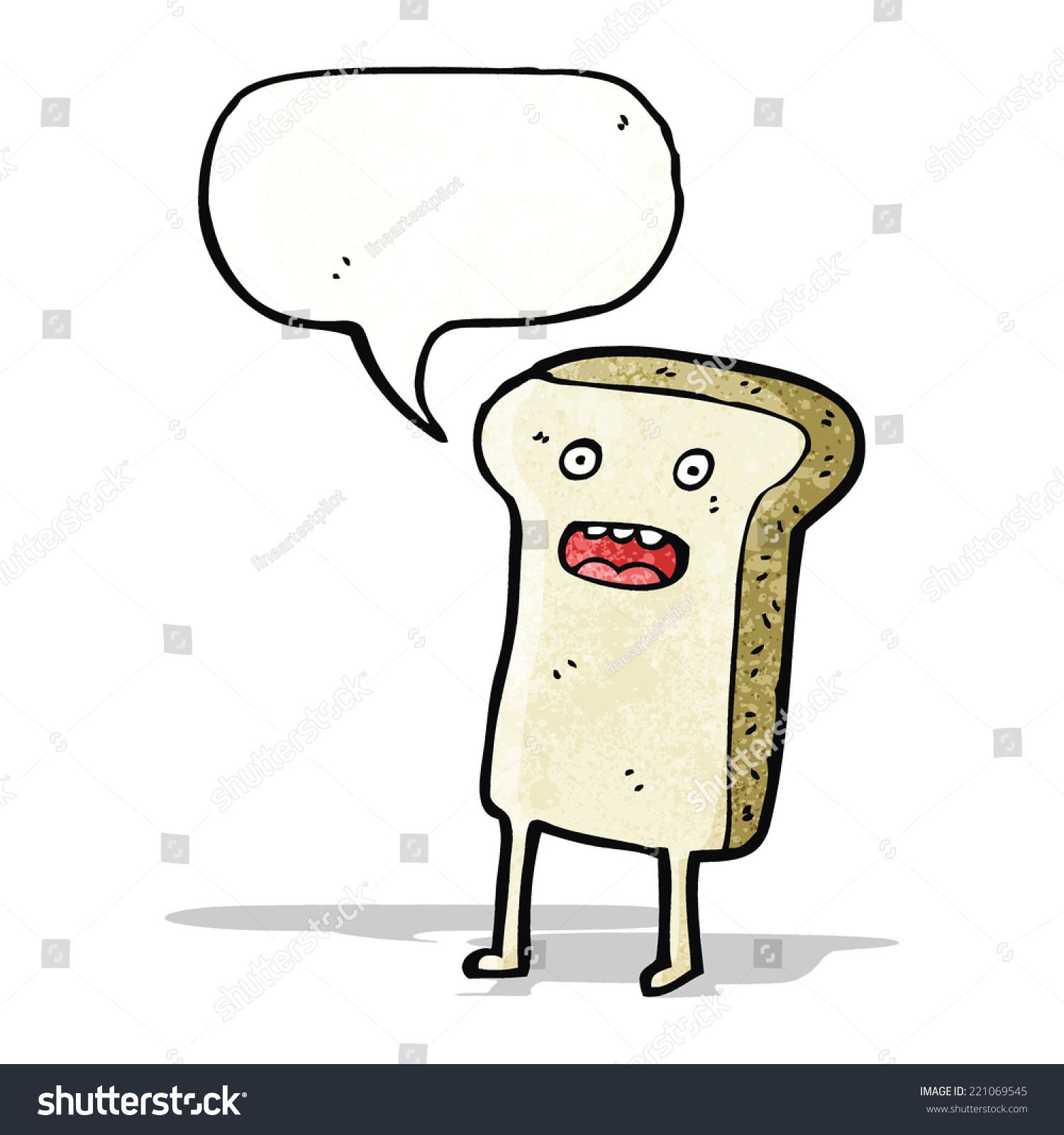 卡通片面包
