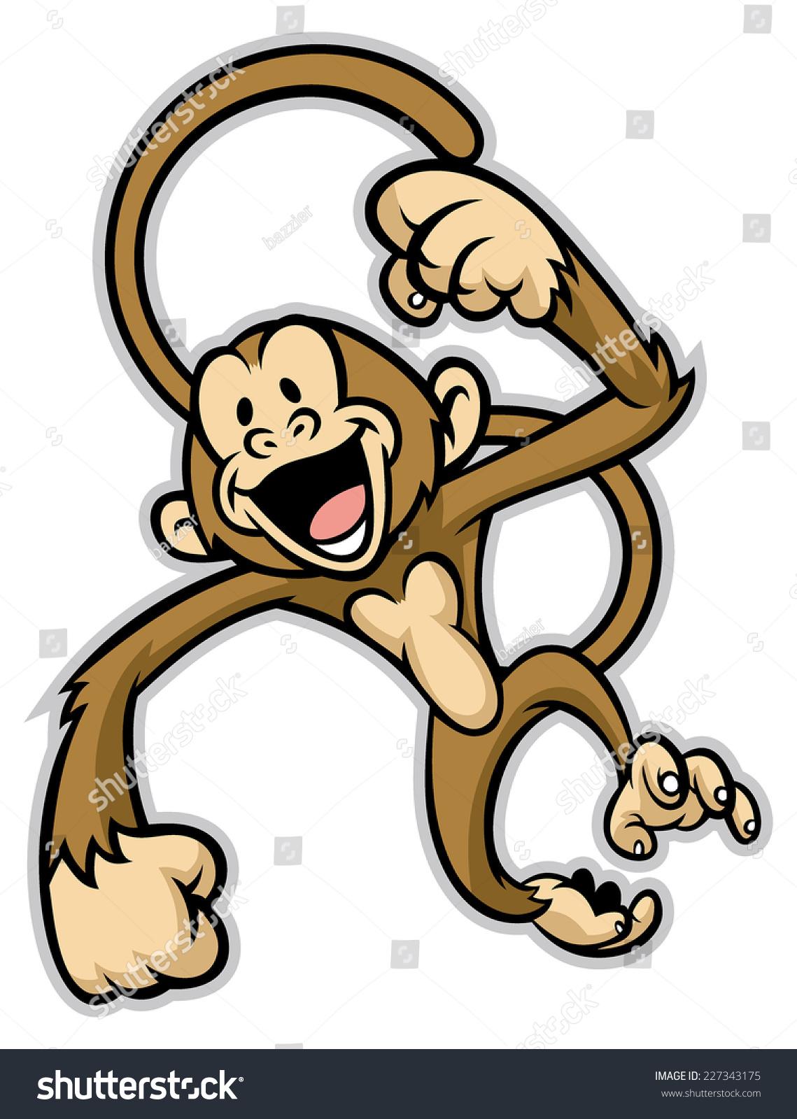 开朗可爱的猴子-动物/野生生物-海洛创意(hellorf)