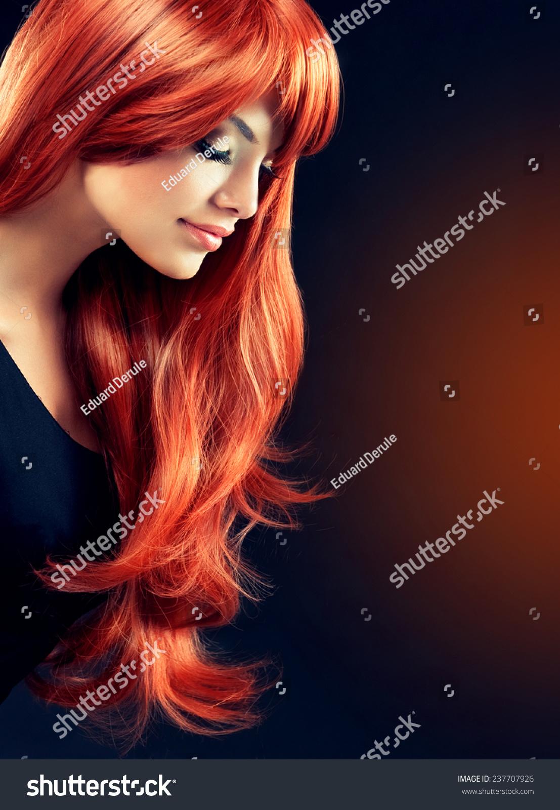 红色头像女生版