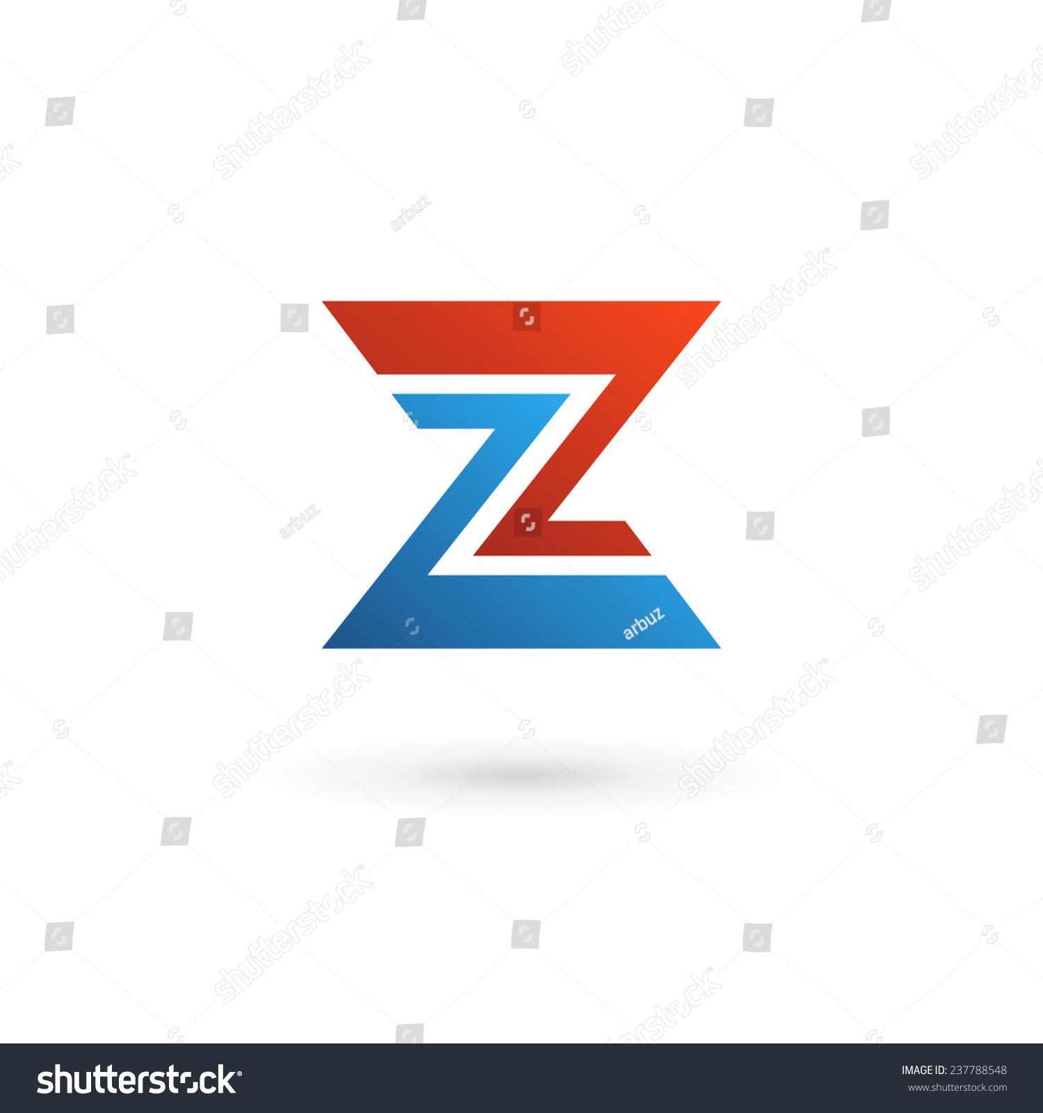 字母z標志圖標設計模板元素