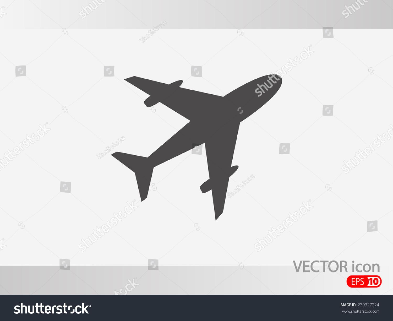 飞机图标-科技,符号/标志-海洛创意(hellorf)-中国