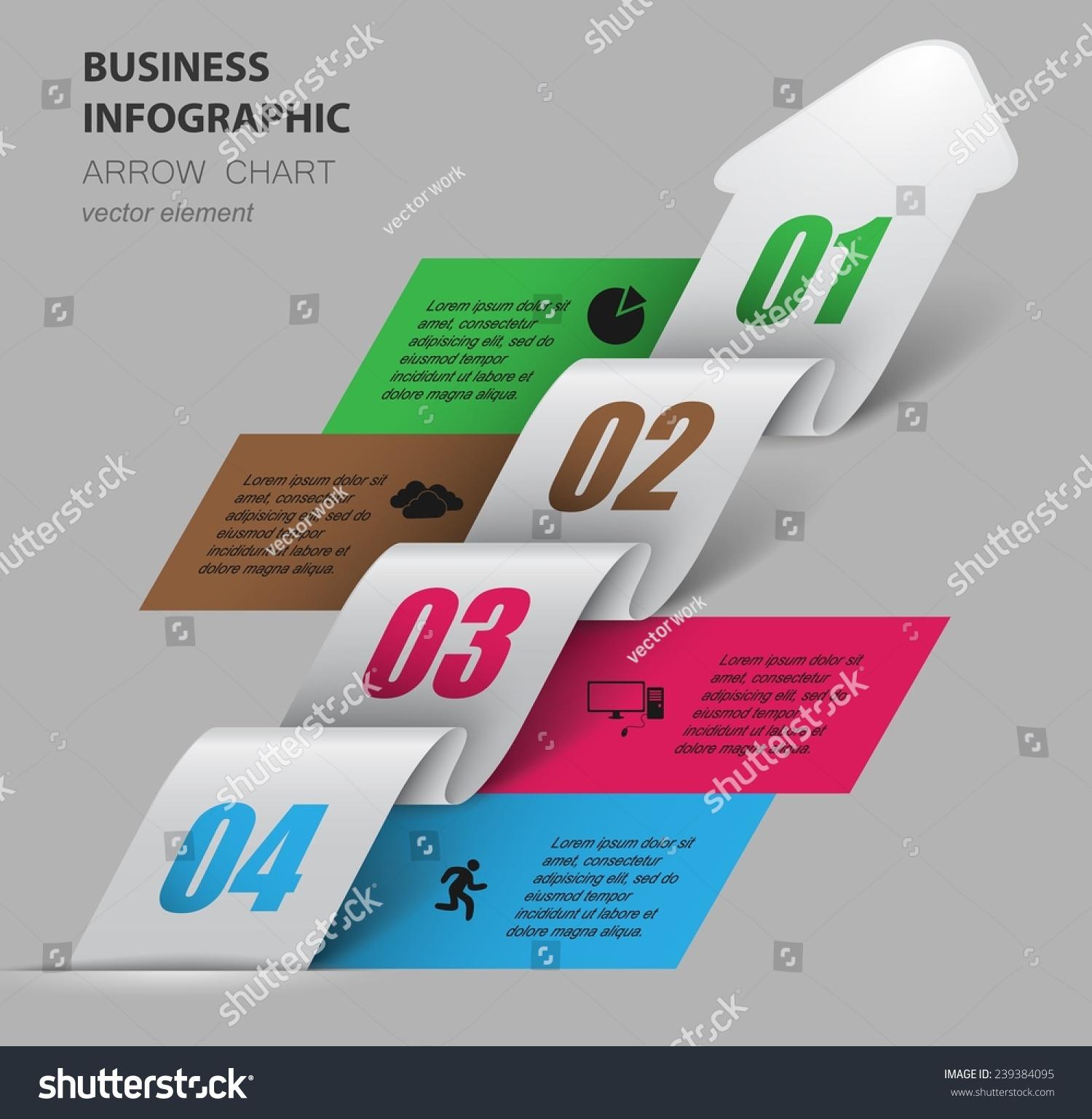 3 d箭头爬行的发展阶段-背景/素材,商业/金融-海洛()