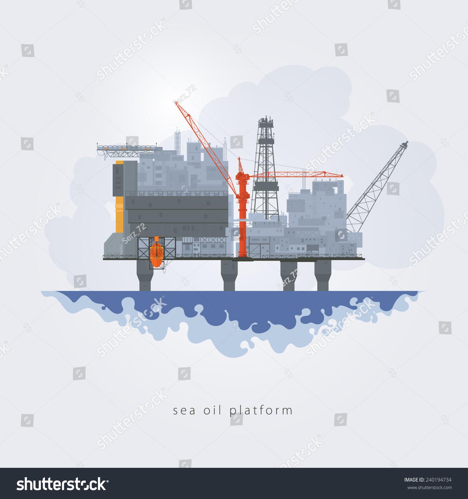 custom oil rig oakley  oil platform