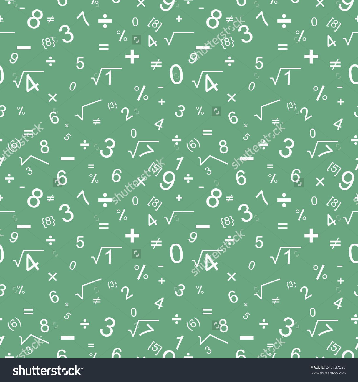 数学无缝模式-背景/素材图片