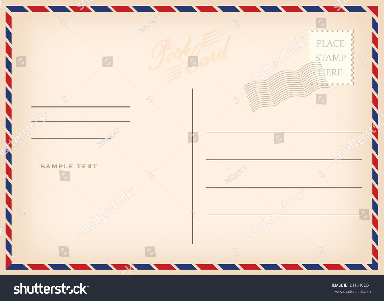 老式明信片,向量设计-复古风格,抽象-海洛创意()-中国