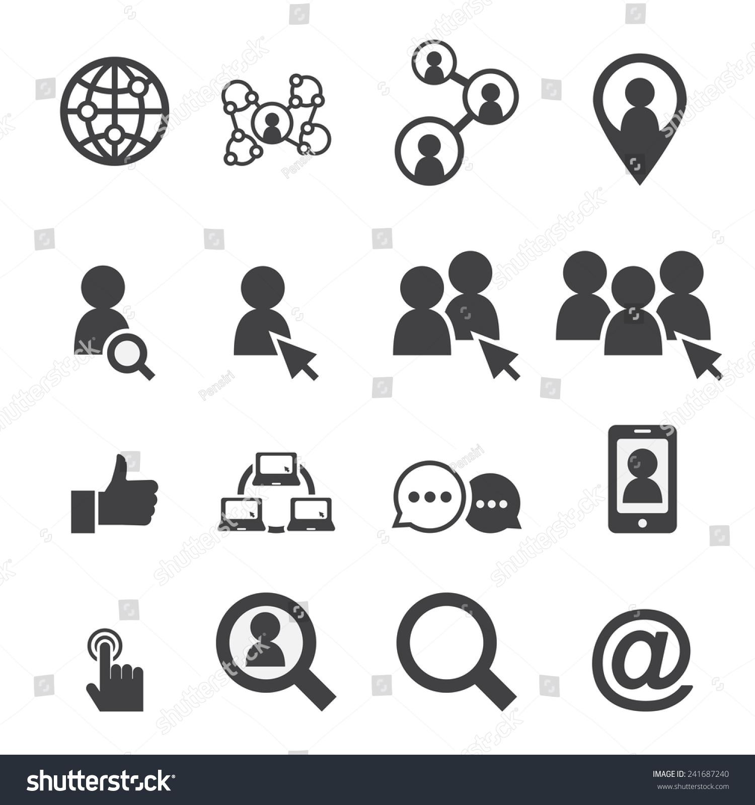 社交网络图标-科技,符号/标志-海洛创意(hellorf)--.