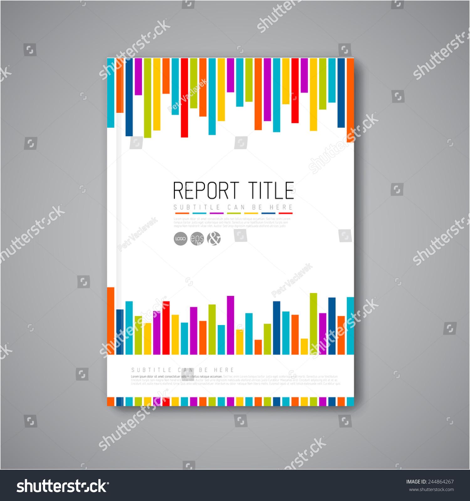 现代向量抽象小册子/书/传单设计模板-背景/素材,物体