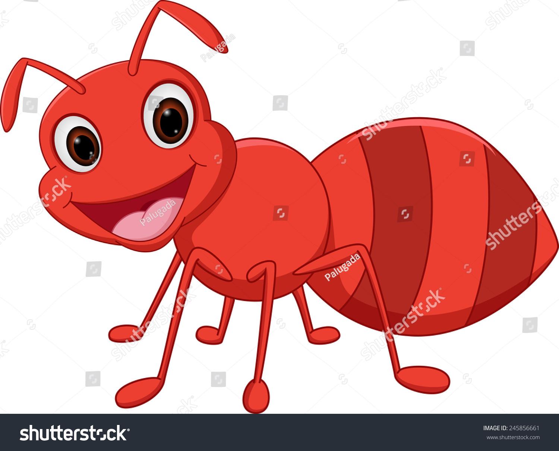 快乐的蚂蚁卡通-动物/野生生物-海洛创意(hellorf)--.