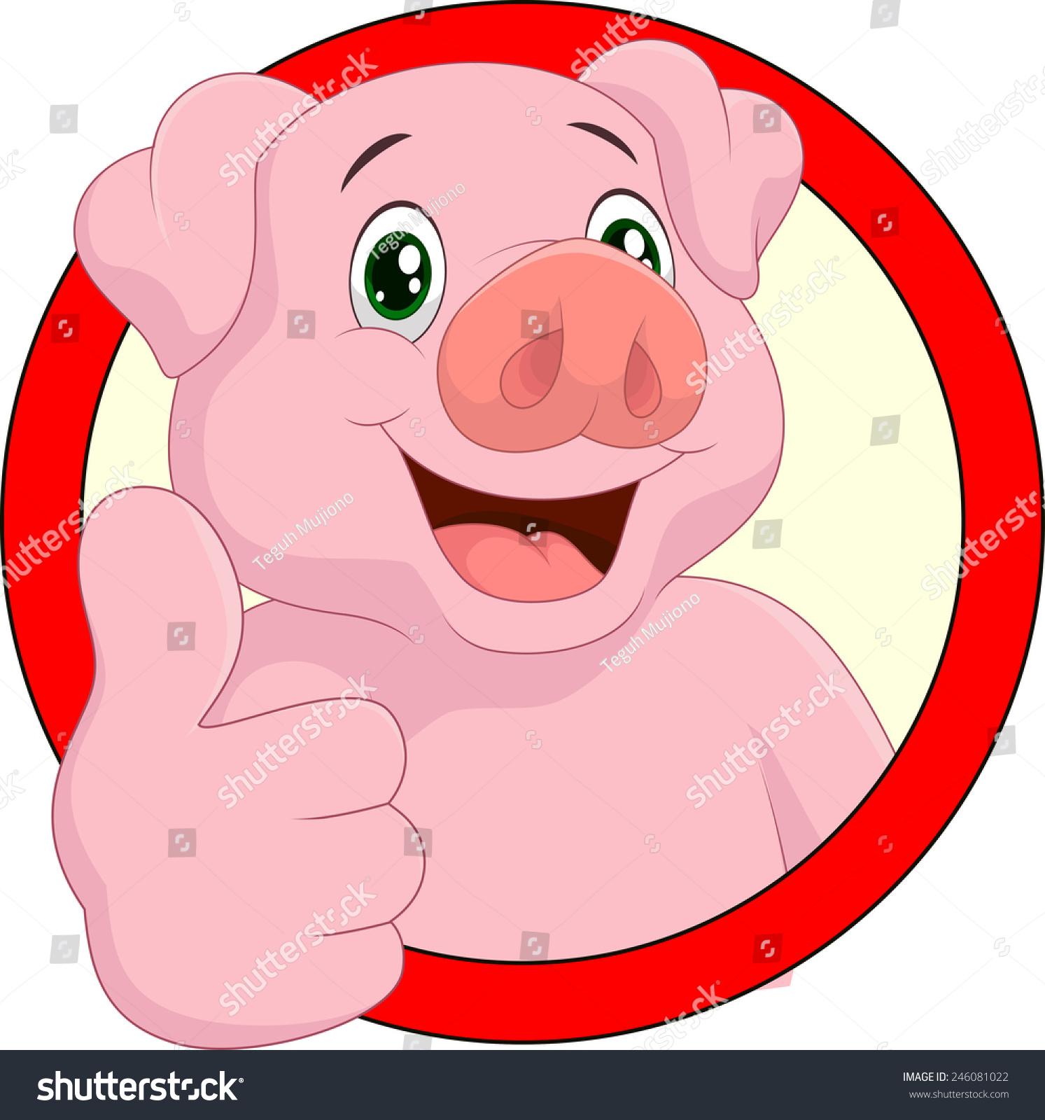 猪放弃拇指-动物/野生生物,抽象-海洛创意(hellorf)-.