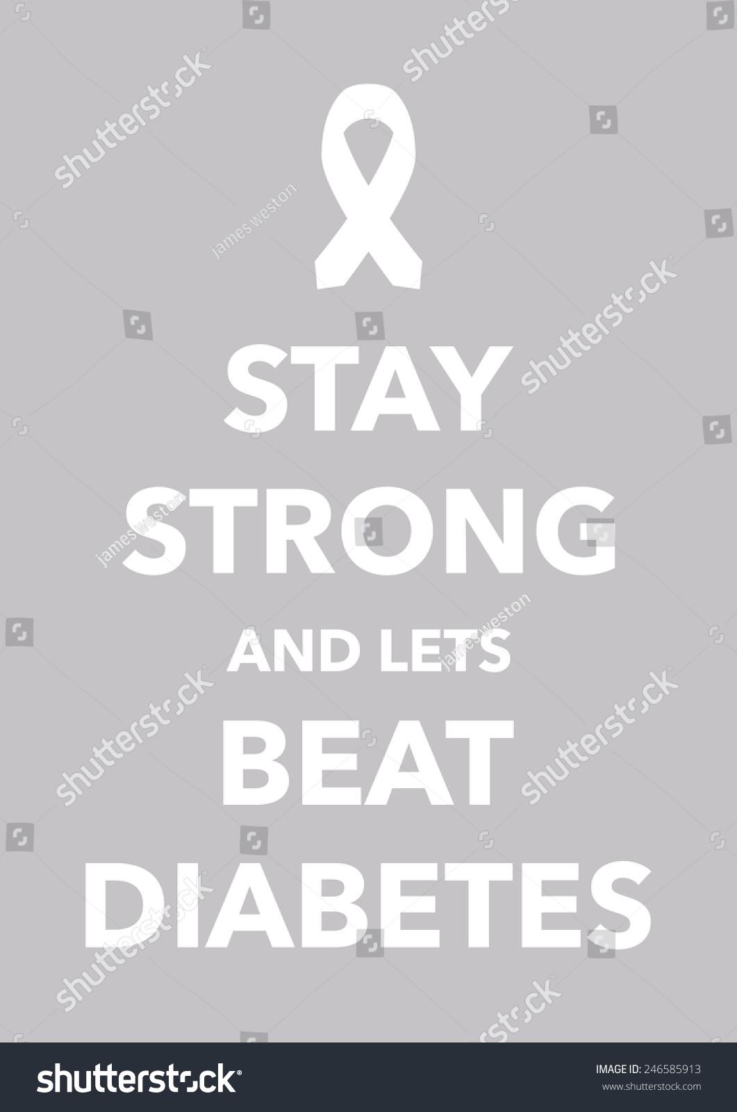 糖尿病海报-背景/素材