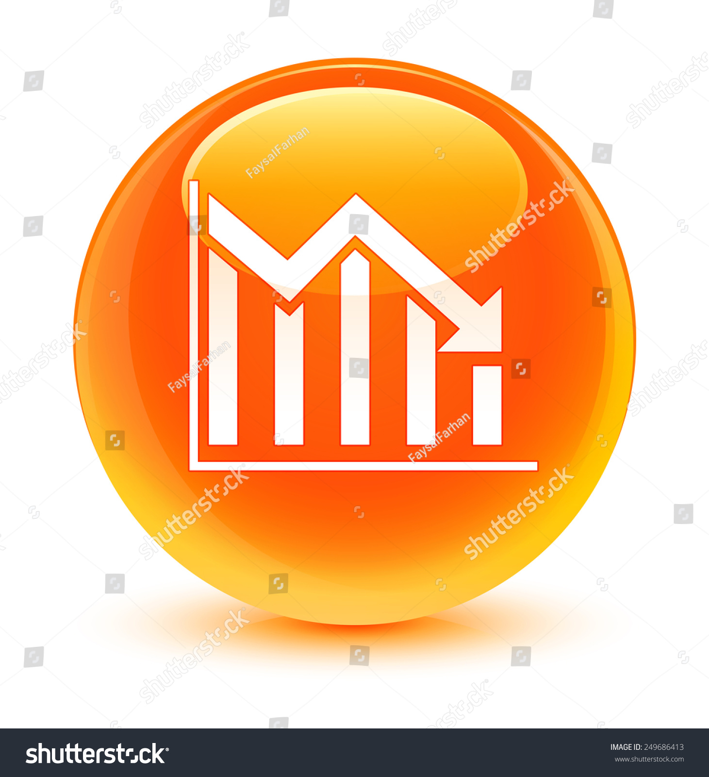 ppt合同结算素材橙色