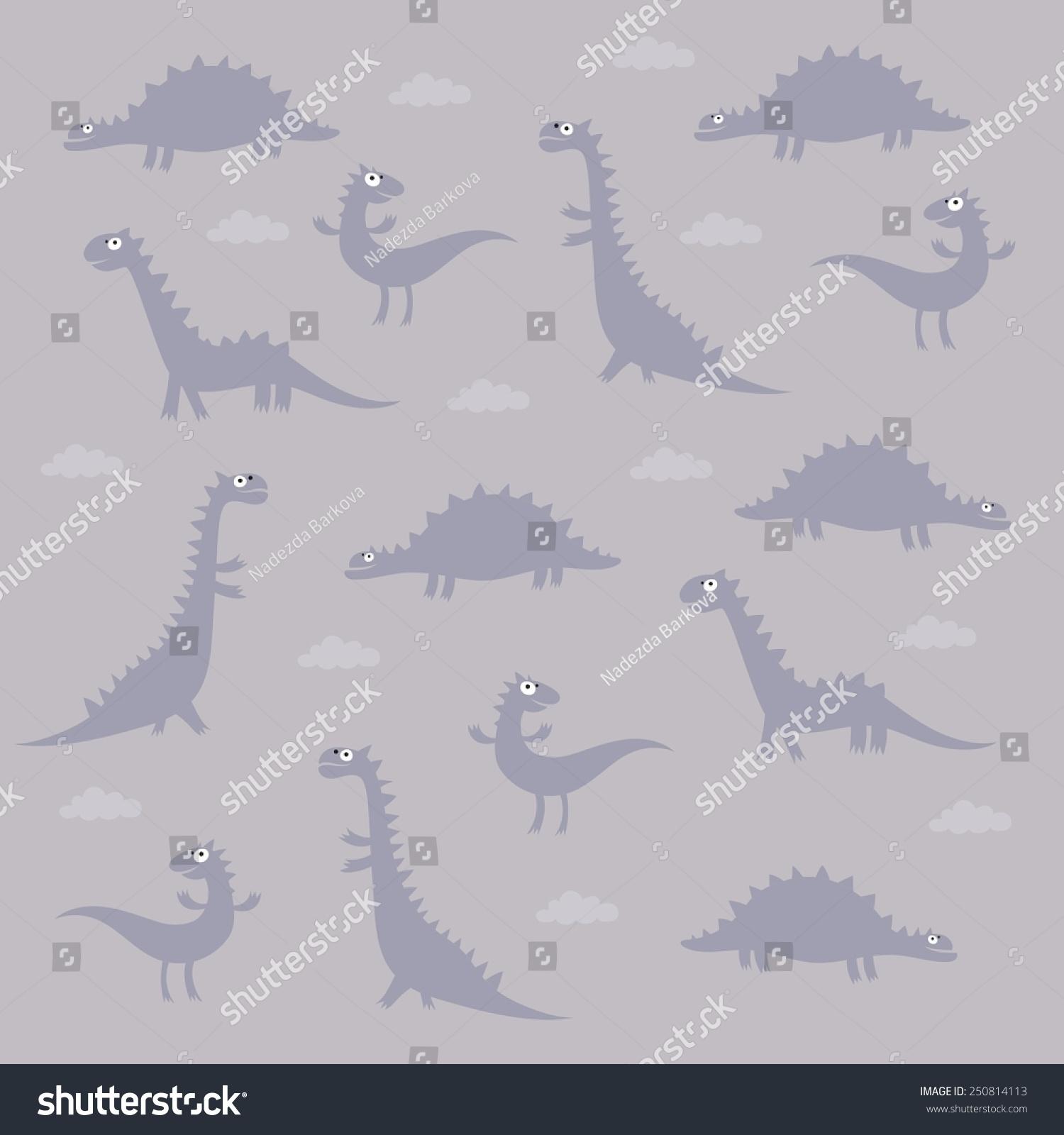 恐龙图案设计-动物/野生生物,背景/素材-海洛创意()-.