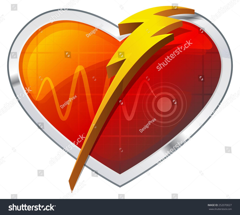 心脏除颤器,插图-医疗保健,符号/标志-海洛创意()-合.图片