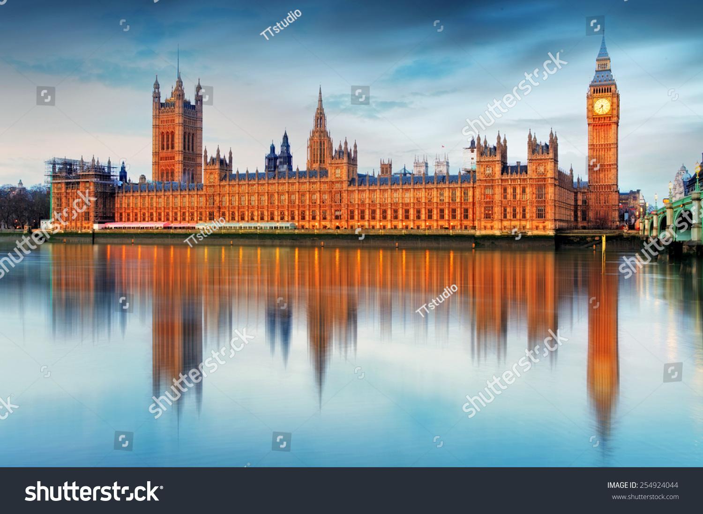 国会大厦——大本钟,英国,英国