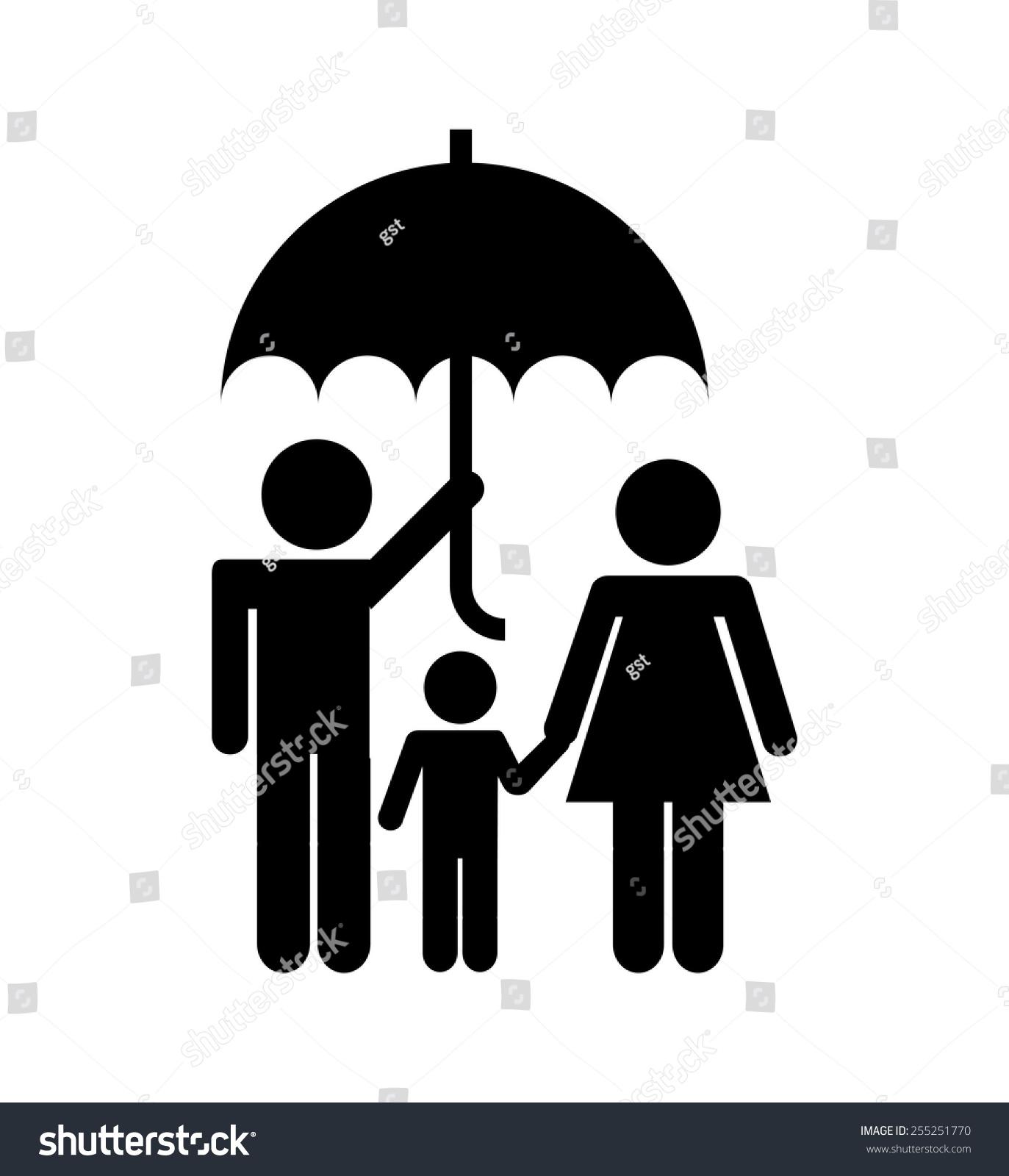 保险概念设计,矢量插图eps10图形-背景/素材,人物-()