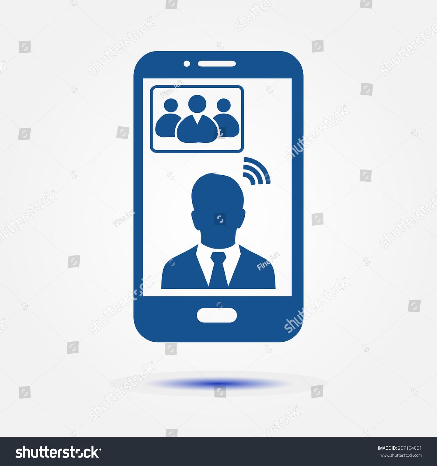 智能手机图标.-科技,符号/标志-海洛创意(hellorf)-.图片