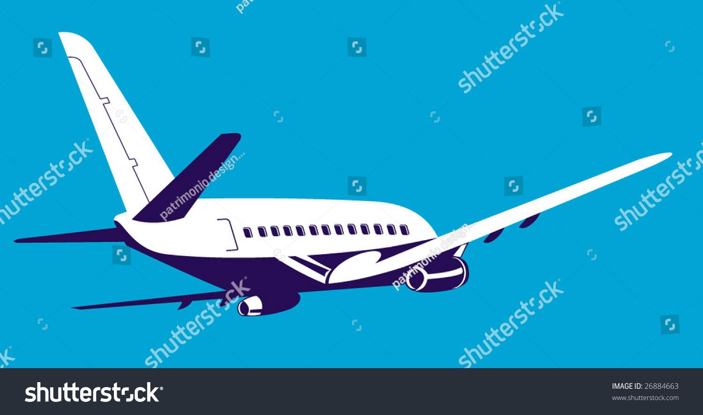 喷气式飞机起飞-交通运输