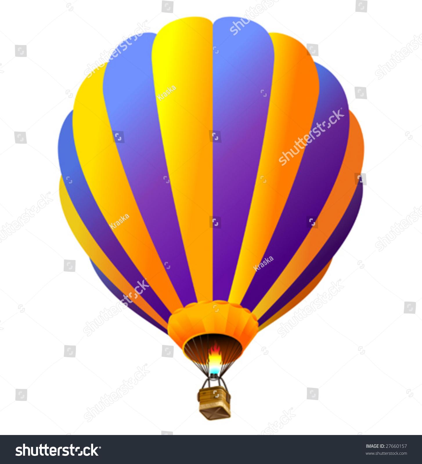 梯度向量热气球(只有)图片