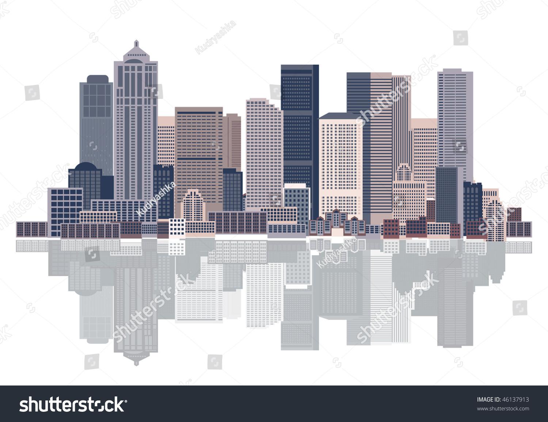 城市背景,城市艺术-插图/剪贴图,建筑物/地标-海洛()