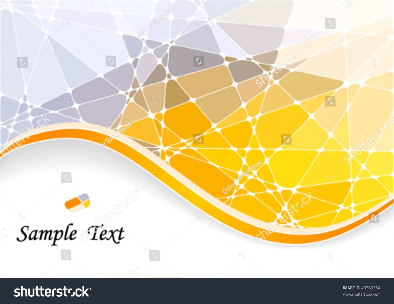 抽象几何马赛克背景-背景/素材