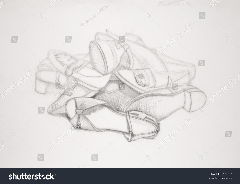 创意微信头像素描