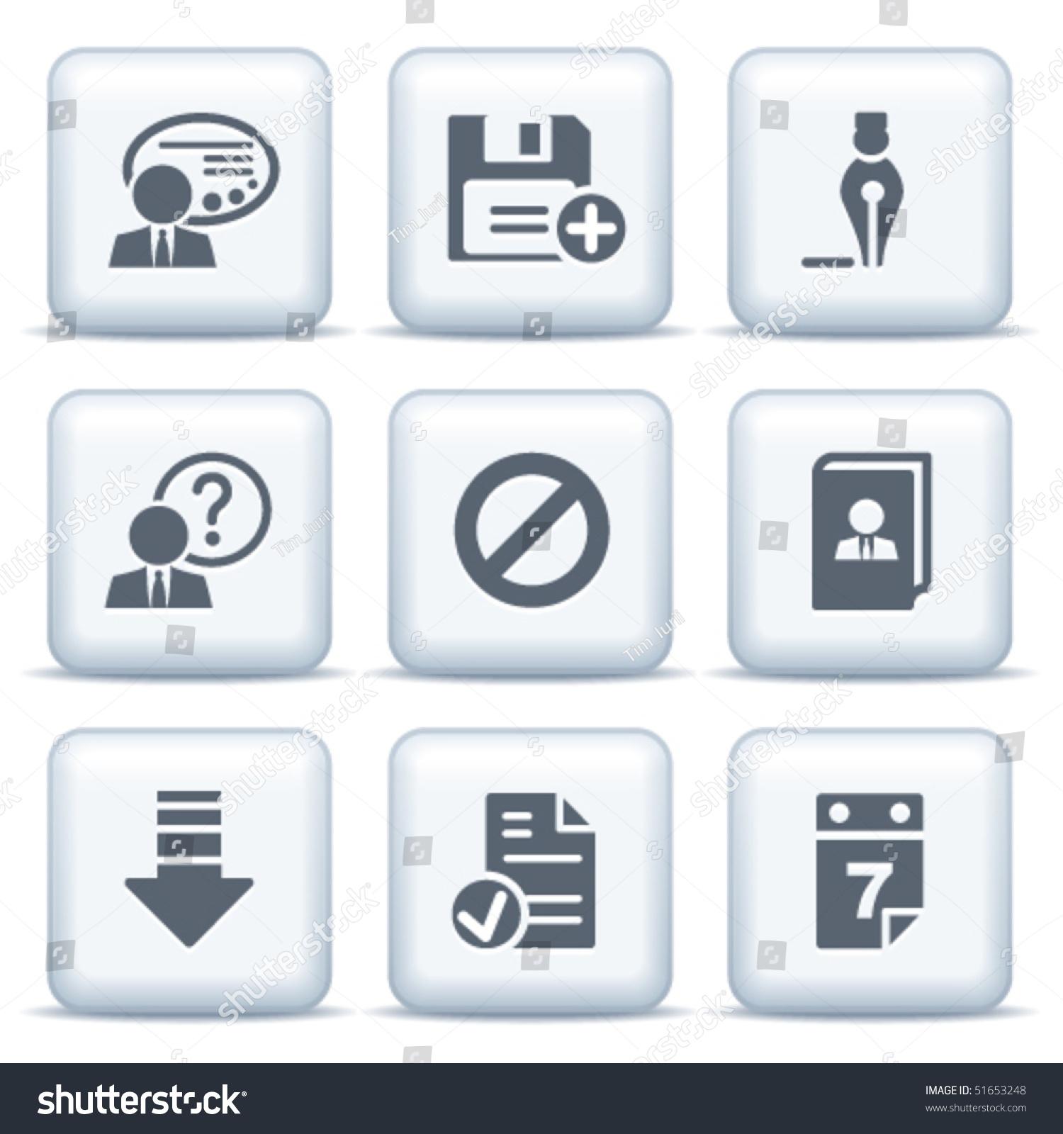 灰色按钮图标2-插图/剪贴图,符号/标志-海洛创意()-合