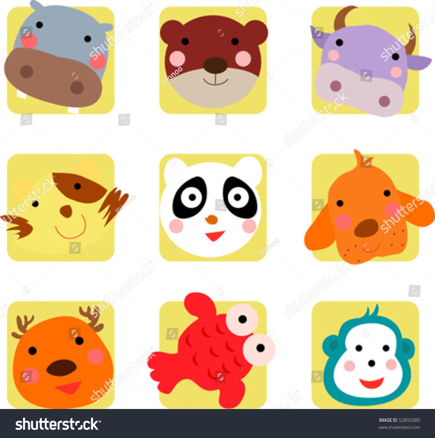 可爱动物图标-动物/野生生物