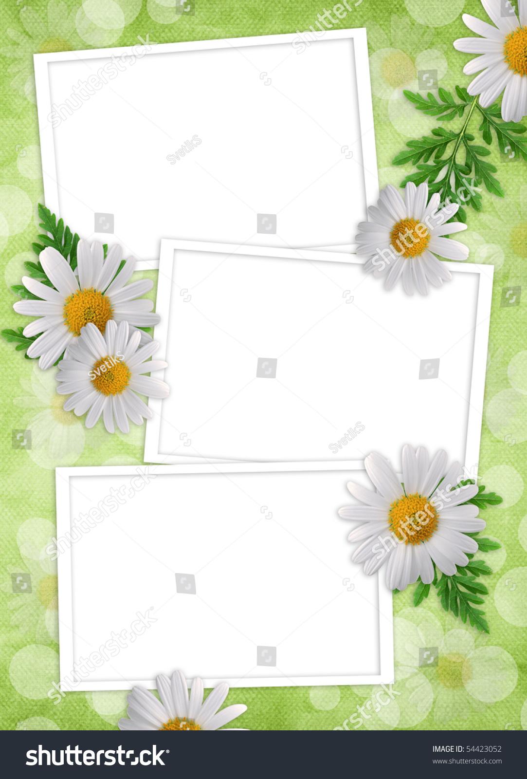 目录花边框手绘