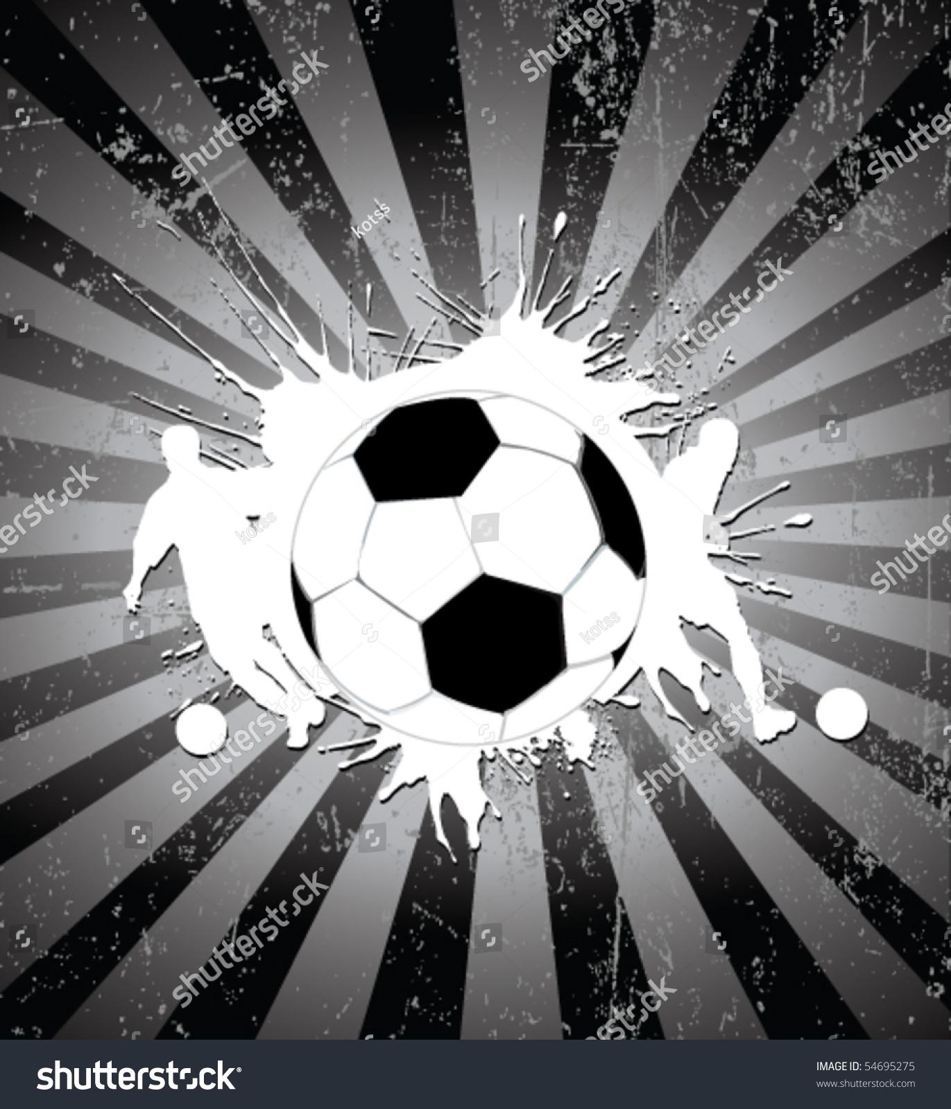 足球海报-运动/娱乐活动