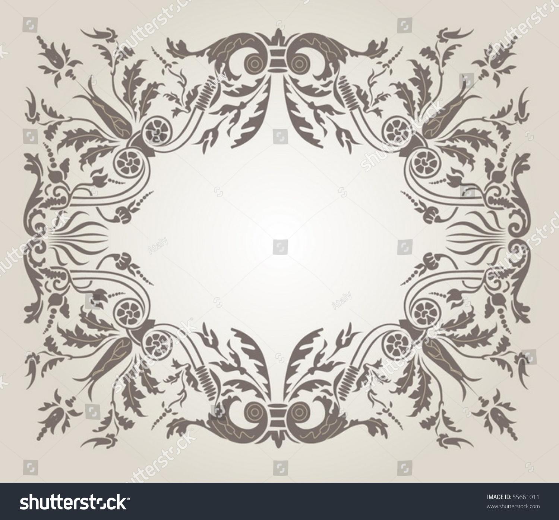 背景,点缀在文艺复兴时期的风格-背景/素材,复古风格
