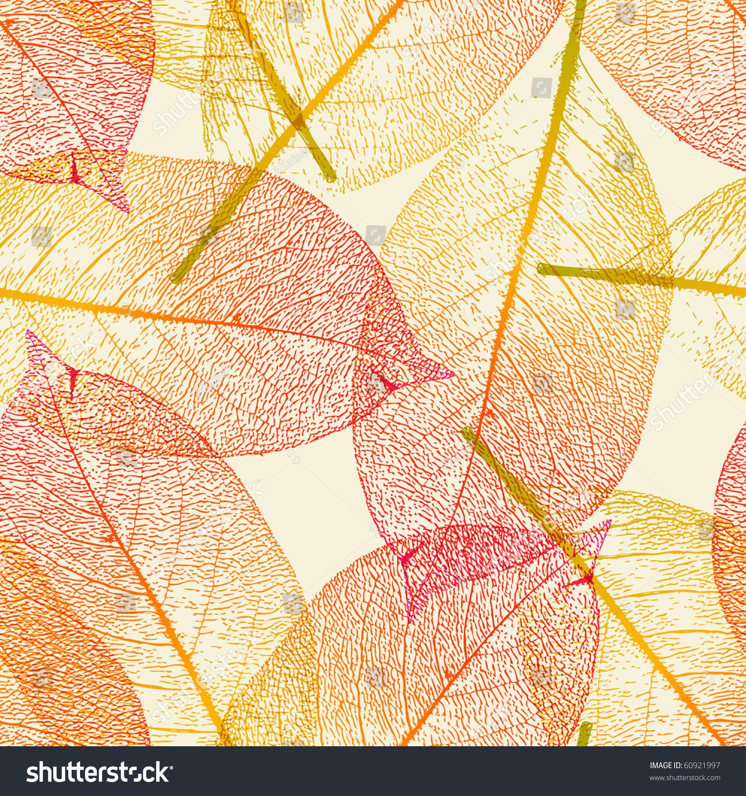 秋天果树信纸背景图