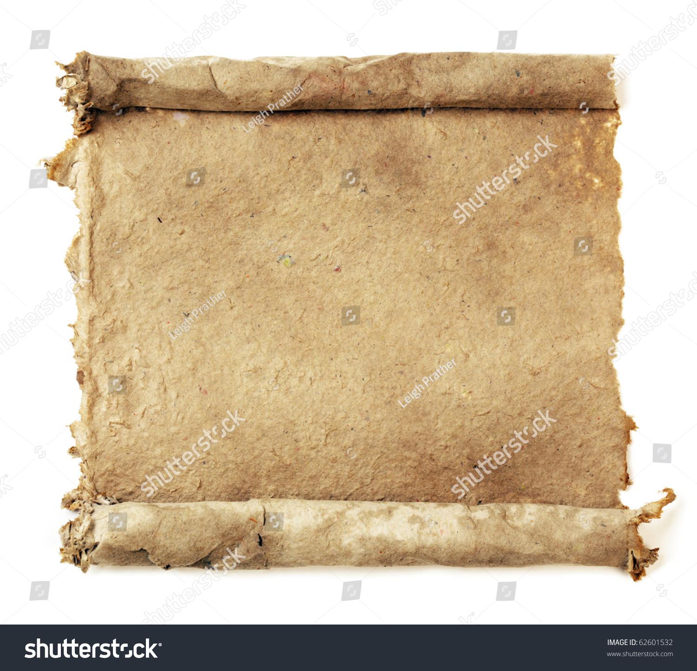手工纸卷轴-背景/素材,复古风格-海洛创意(hellorf)-.