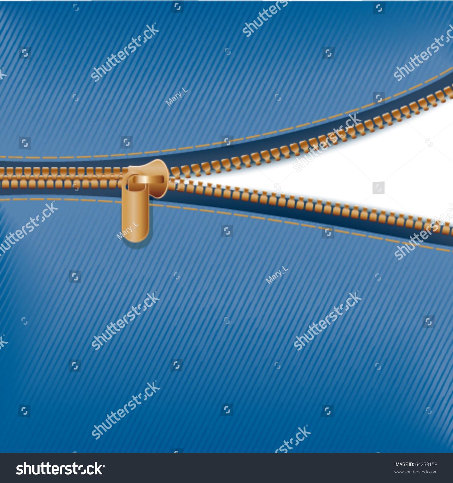 拉链用蓝色布料-背景/素材